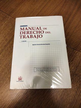 manual del derecho del trabajo, TIRANT LO BLANCH