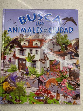 Libro Busca los animales de tu ciudad