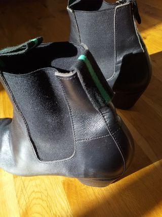 Botín Flamenco box-calf profesional (de piel)