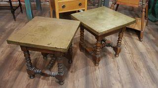 antiguas mesas o mesitas de centro