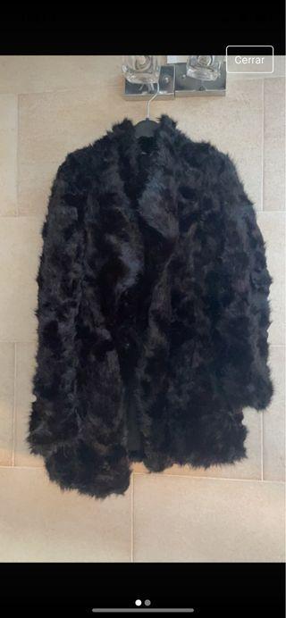 Abrigo Faux Fur Zara