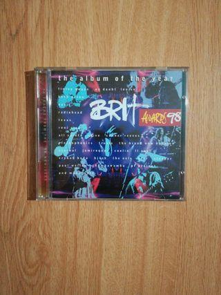 """Doble cd """"Brit Awards 1998"""""""