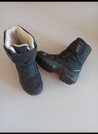 botas nieve numero 25 decatlon quechua