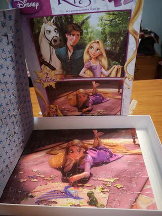 puzzles de Disney. dos de rapunzel