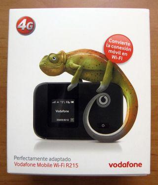 Módem Router LTE-WiFI 4G Huawei R215(libreLIBRE)