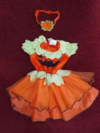 disfraz Halloween niña 6-12 meses
