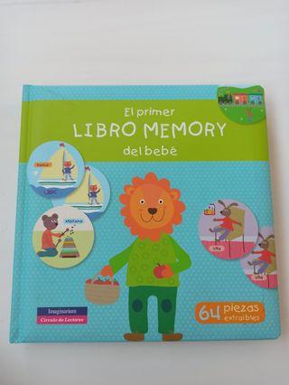 mi primer libro memory del bebé Imaginarium