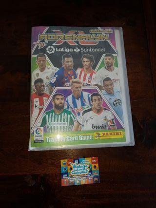ALBUM DE CROMOS ADRENALINA XL 2019-2020