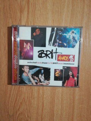 """Doble cd """"Brit Awards 1996"""""""