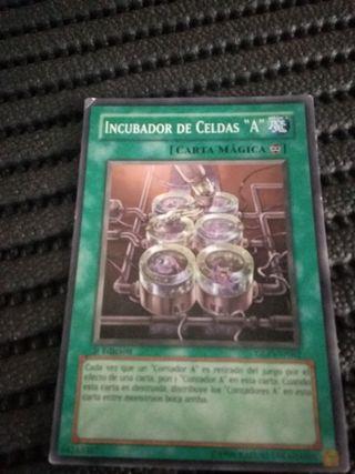 carta yu gui oh 1996 incubador de celdas 'a'.