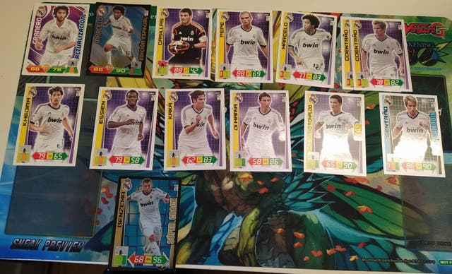 pack de cromos adrenalyn XL 09-13 real madrid