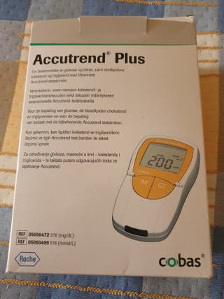 Medidor de colesterol, triglicéridos y glucosa
