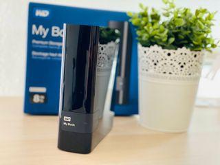 Disco duro externo 8 TB Western Digital WD USB 3.0