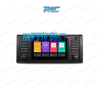 "RADIO DVD GPS TACTIL 7"" BMW E39 E38 ANDROID 8.0 4G"