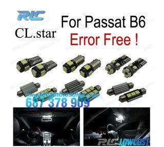 KIT 14 BOMBILLAS LED INTERIOR VW VW PASSAT B6