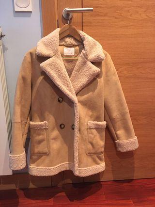Abrigo beige Zara