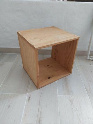 Cubo madera leroy merlin