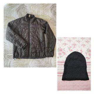 Abrigo plumas + regalo gorro - talla M