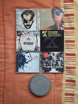 7 CD'S DOBLES DE MÚSICA ELECTRÓNICA