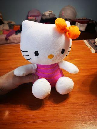 hello kitty vestido rosa 22cm