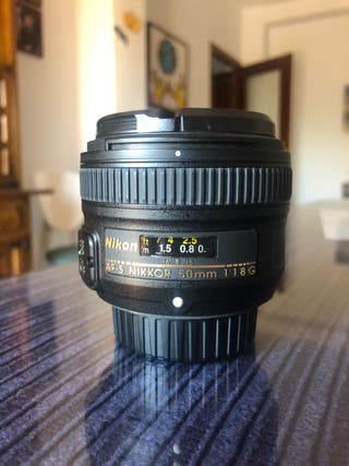 Nikon 50mm f/1.8g en PERFECTO ESTADO