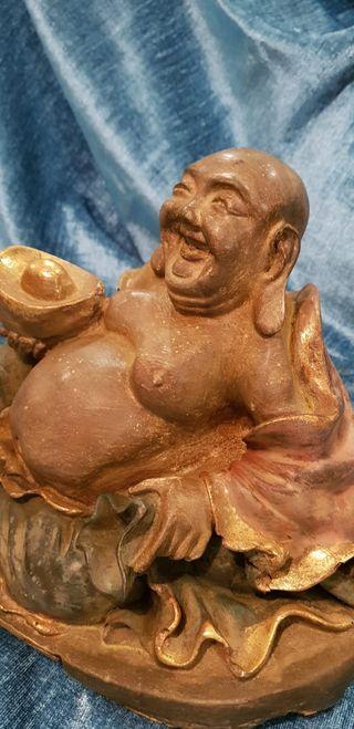 """""""Hotei"""", o Buda de la felicidad (Singapore)."""