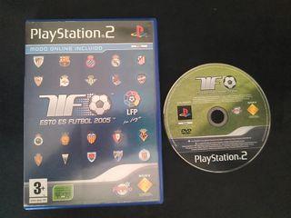 Esto es Futbol 2005 PS2