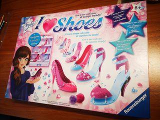 juego moda crear zapatos