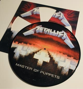 METALLICA Vinilo Ed Especial Picture Disc Disco LP