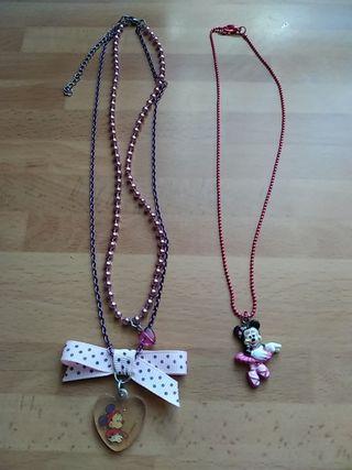 2 collares nuevos