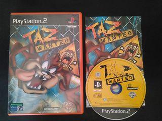 Taz Wanted PS2