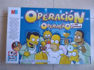 Juego operación Los Simpsons
