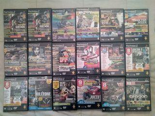 Lote 18 Demos PS2