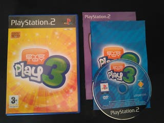 Eye Toy Play 3 PS2