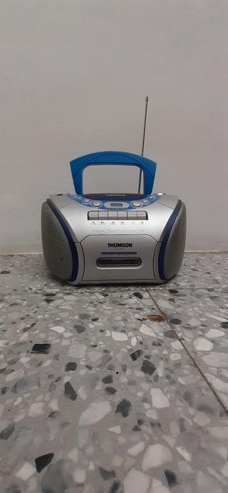 Radio casete.