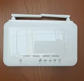 Router blanco de moviestar.