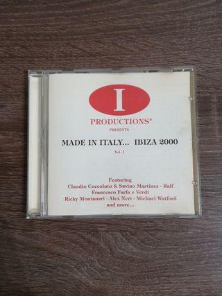 """Cd """"Made in Italy... Ibiza 2000"""""""