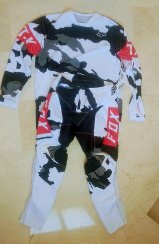 traje motocross Fox