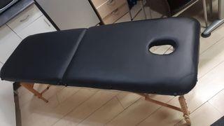Cama de masaje plegable y portatil