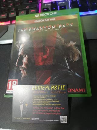 Metal Gear Solid V Phantom Paint Xbox One