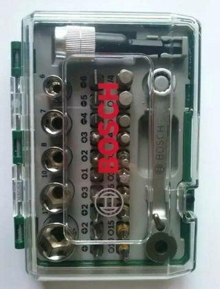 maletín carraca Bosch herramientas