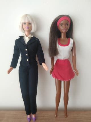 Muñecas Barbie Piloto y Christie
