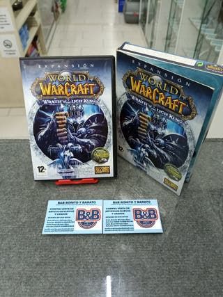 EXPANSION WORLD WARCRAFT WRATH OF LICH KING (B)