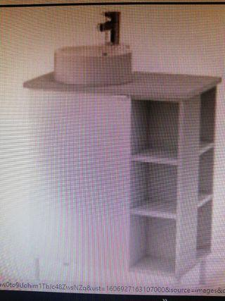Mueble lavabo encimera ikea