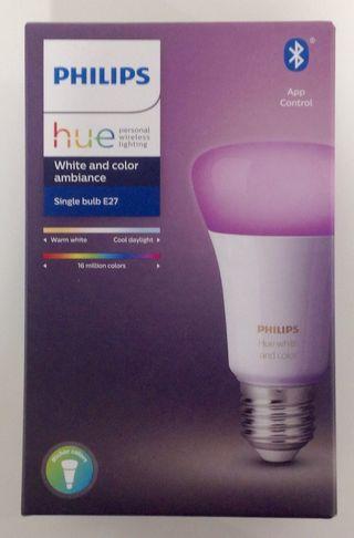 Bombilla philips hue single bulb E27 nueva