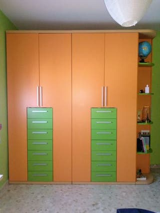 Mobiliario habitación juvenil doble