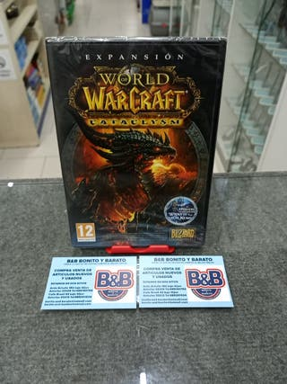 EXPANSION WORLD WARCRAFT CATACLYSM PC (PRECINTADO)