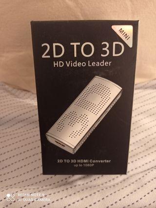 Convertidor LKV223 2D a 3D convertidor de video