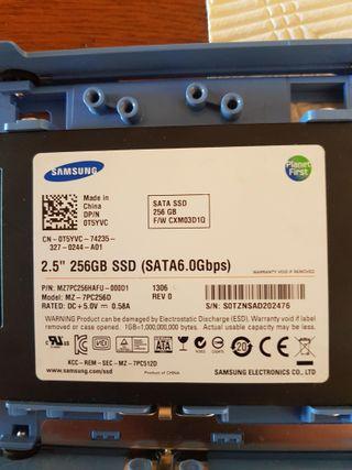 disco duro interno ssd samsung 256gb sata6