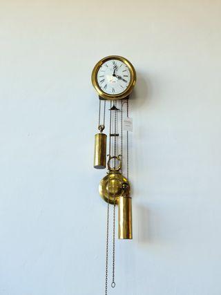 Reloj Mecanico Pared Vouvray Bronce y Ceramica
